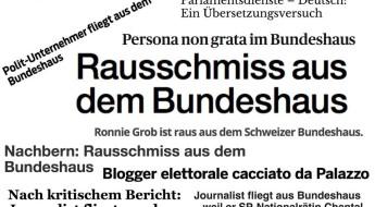 Collage der Schlagzeilen zum Entzug der Akkreditierung
