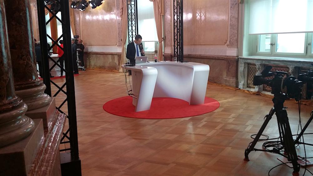 Wahltag im Bundeshaus am 18. Oktober 2015